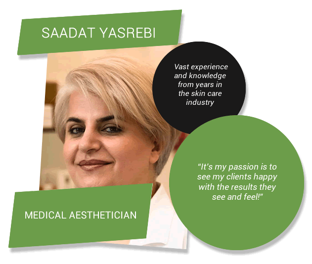 Sadaat Yasrebi - Medical Aesthetician